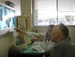 診療の風景